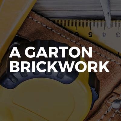 A Garton Brickwork