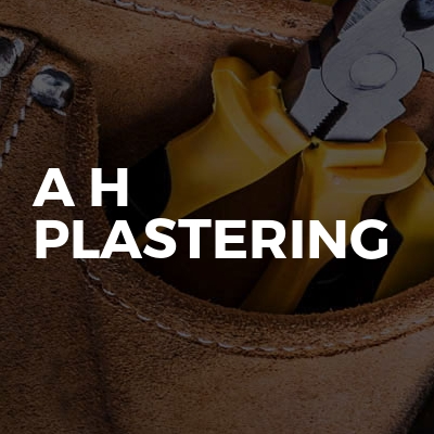 A H Plastering