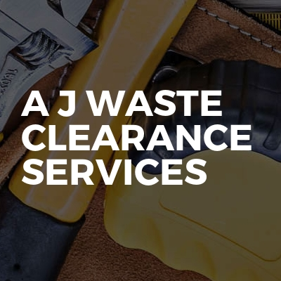 A J Waste Clearance Services