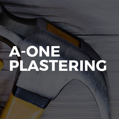 A-One plastering