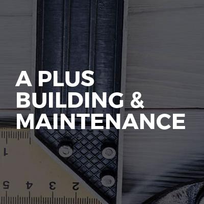 A Plus Building & Maintenance