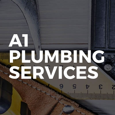 A1 Plumbing services