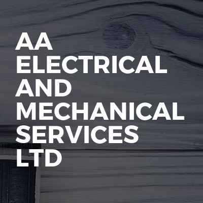 AA electrical and mechanical services ltd