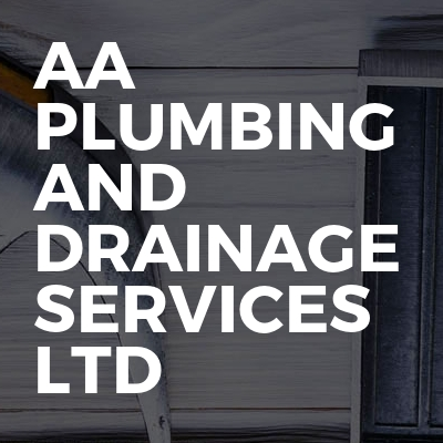AA Plumbing And Drainage Services Ltd