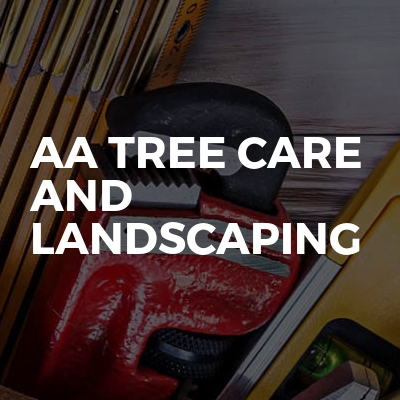 AA tree care and landscaping