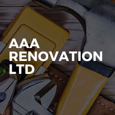 AAA RENOVATION LTD