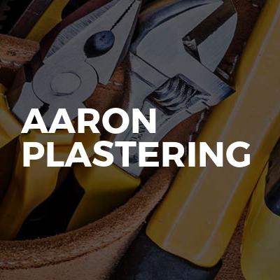 Aaron Plastering