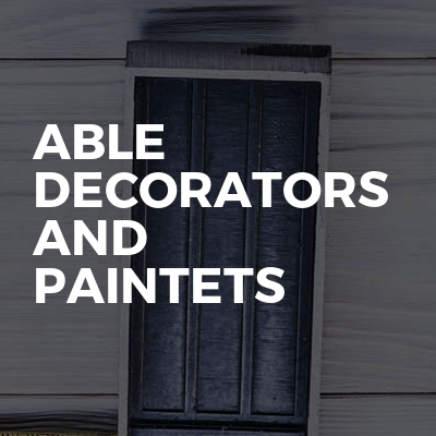 Able decorators and paintets