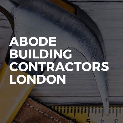 Abode building contractors london