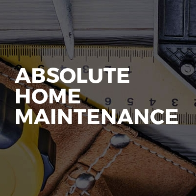 Absolute Home Maintenance