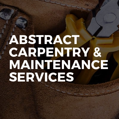 Abstract Carpentry & Maintenance Services