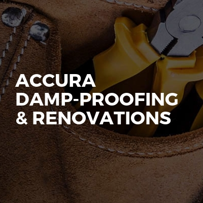 Accura Damp-Proofing & Renovations