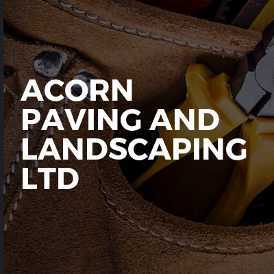 Acorn paving and landscaping ltd