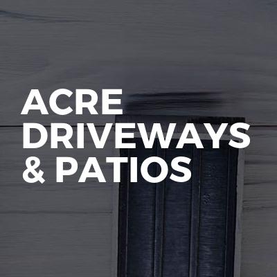 Acre driveways & patios