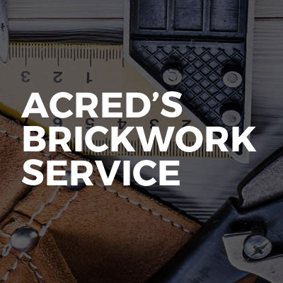 Acred's brickwork Service