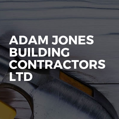 Adam Jones building contractors ltd