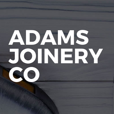 Adams joinery co