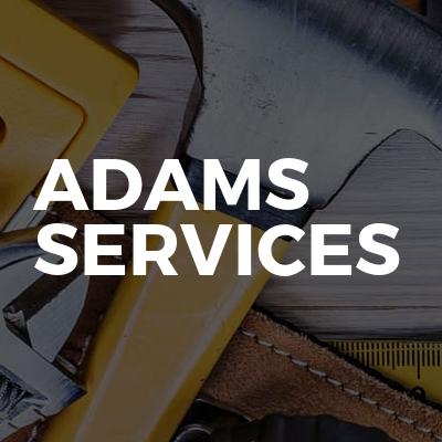 Adams services