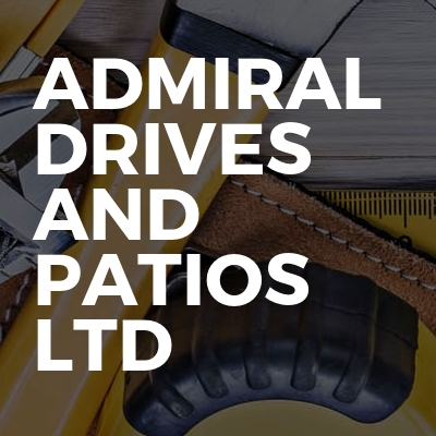 Admiral drives and patios Ltd