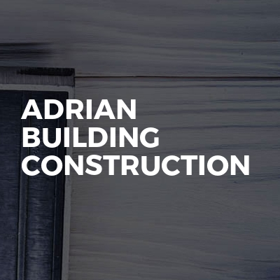 Adrian Building Construction