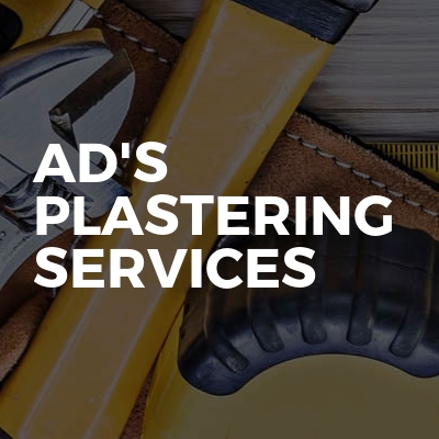 Ad's Plastering Services
