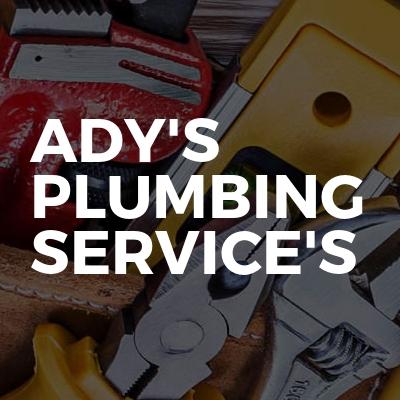 ady's plumbing service's