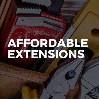 Affordable extensions