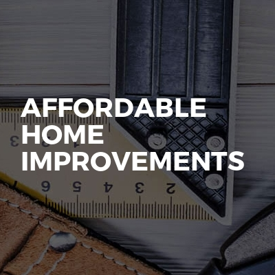 Affordable Home Improvements