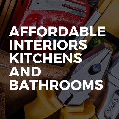 Affordable interiors kitchens and bathrooms