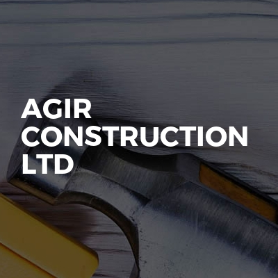 AGIR construction ltd