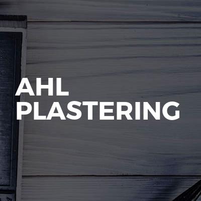 AHL Plastering