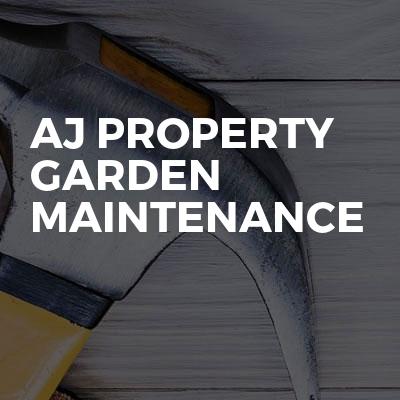 AJ property garden maintenance