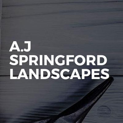 A.J Springford Landscapes