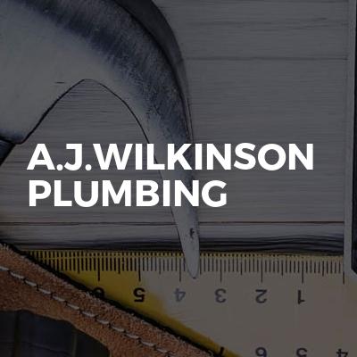 A.J.Wilkinson plumbing