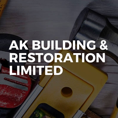 AK building & restoration limited