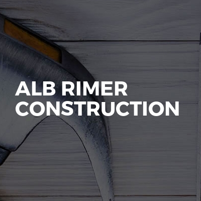 ALB RIMER CONSTRUCTION