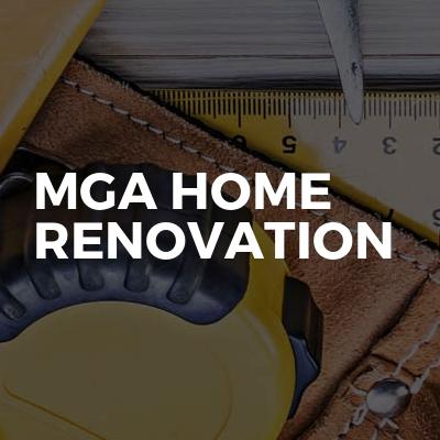 MGA home renovation