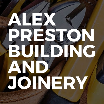 Alex Preston building and joinery