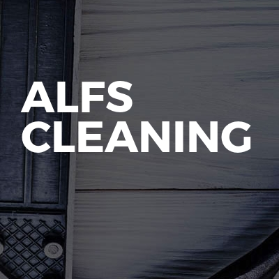 Alfs cleaning