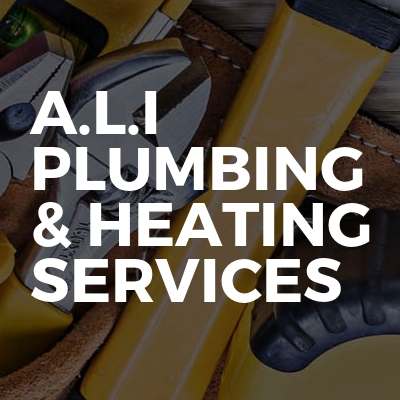 A.L.I plumbing & heating services