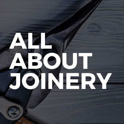 All about joinery