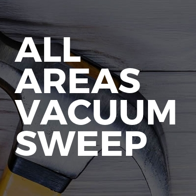 All Areas Vacuum Sweep