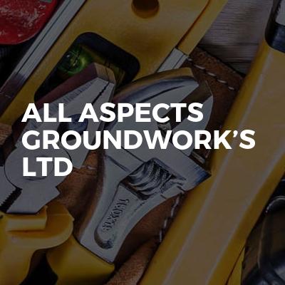 All Aspects Groundwork's Ltd