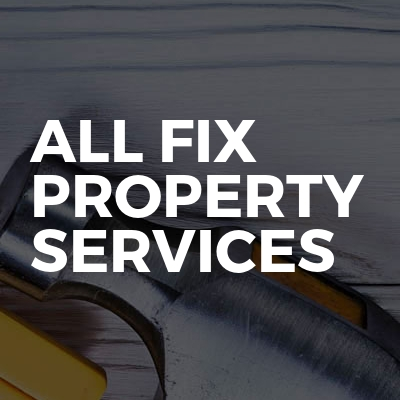 All Fix Property Services