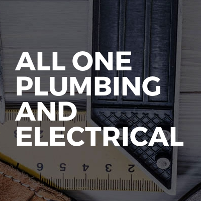 All One Plumbing And Electrical