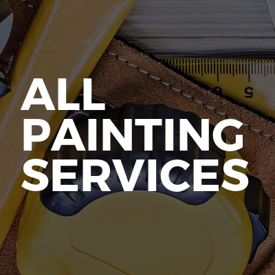 ALL Painting services