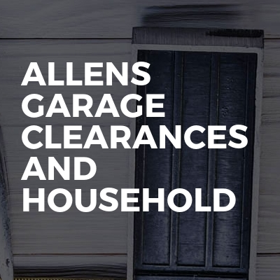Allens garage clearances and household