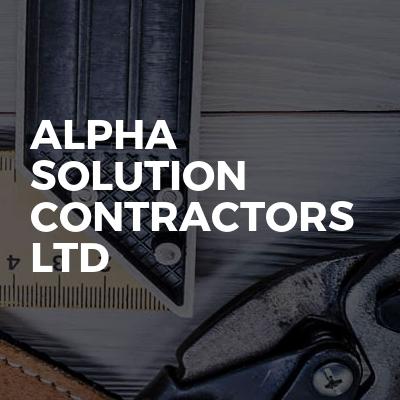 Alpha Solution Contractors Ltd