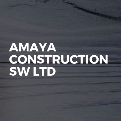 Amaya Construction SW ltd