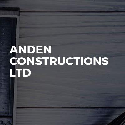 Anden Constructions Ltd